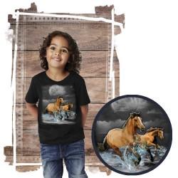Koszulka chłopięca z koniem  HORSE WILDERNESS