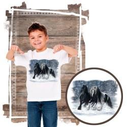 Koszulka chłopięca z koniem WINTER-WONDERLAND
