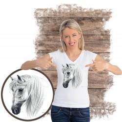 Koszulka damska z koniem TRANKO ANDALUSIAN