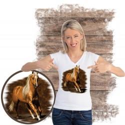 Koszulka damska z koniem GOLDEN BOY
