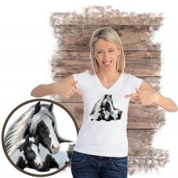 Koszulka damska z koniem GYPSIES