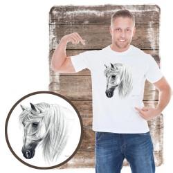 Koszulka męska z koniem TRANKO ANDALUSIAN