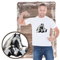 Koszulka męska z koniem GYPSIES