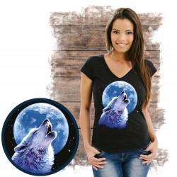 Koszulka damska z wilkiem CALL OF THE WILD