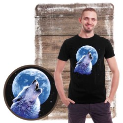 Koszulka męska z wilkiem CALL OF THE WILD