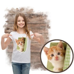 koszulka z kotem KITTEN IN GREEN POT