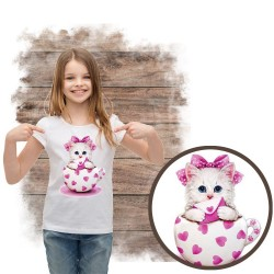 koszulka z kotem KITTY HEARTS