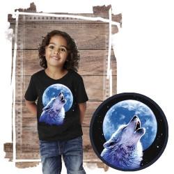 Koszulka dziecięca z wilkiem CALL OF THE WILD