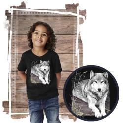"""Koszulka dziecięca z wilkiem """"WOLF PORTRAIT"""""""