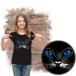 koszulka z kotem blue eyes