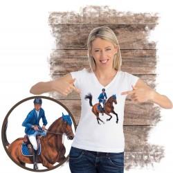 Koszulka damska z koniem galop