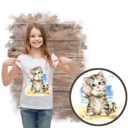 koszulka z kotem SEASHELL KITTEN