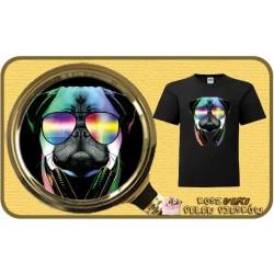 Koszulka chłopięca z pieskiem DJ PUG