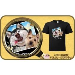 Koszulka chłopięca z pieskiem DOGS SELFIE